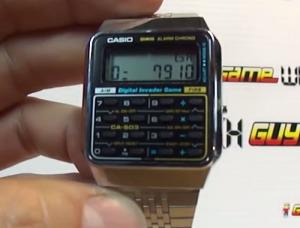 CASIO Game Calculator Watch